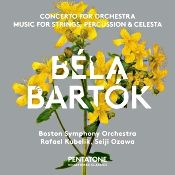 John J. Puccio at Classical Candor reviews Bartok: Concerto for Orchestra, with Rafael Kubelik and the Boston Symphony, remastered by Pentatone on a hybrid SACD.