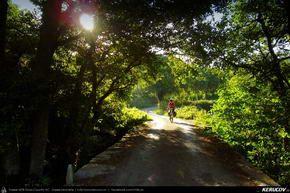 Traseu cu bicicleta MTB XC El Camino de Santiago del Norte - 10: Gontan - Goiriz - Puente de Saa - Baamonde . MTB Ride El Camino de Santiago del Norte - 10: Gontan - Goiriz - Puente de Saa - Baamonde - Galicia, Spania