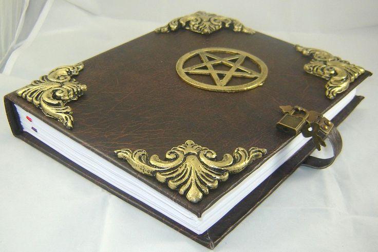 Livro das Sombras com Pentagrama cod.218