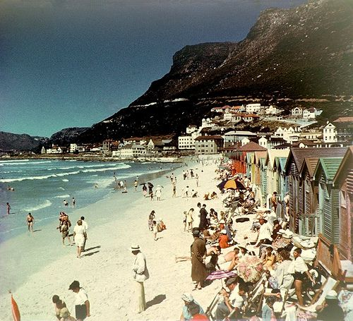 Muizenberg, Cape Town , South Africa, in Colour....1949
