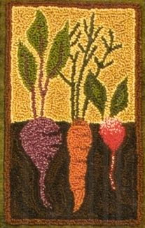 Vegetable Garden Punch Needle Embroidery Kit