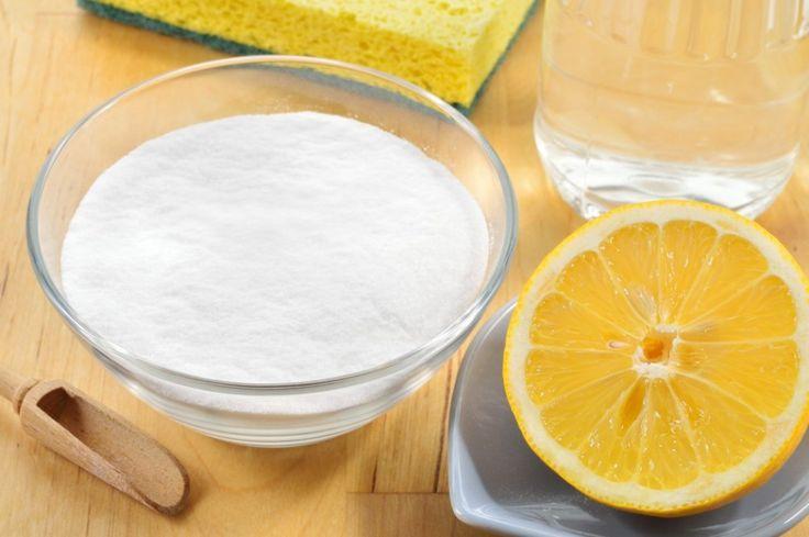 Bicarbonato de sodio con zumo de limón