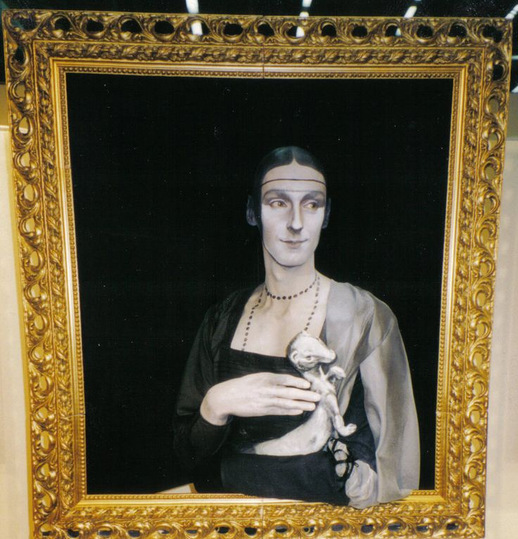 Channing performance - da Vinci - 'Lady with Ermine'.