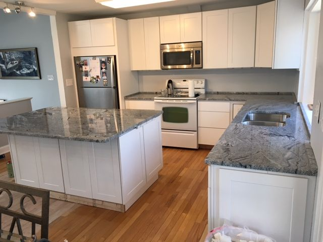 A Case Study This client, Tony, inquired about a kitchen remodel on our website. The basic package was for a 10 x 10 kitchen, but his kitchen covered a larger area. He wanted a complete kitchen remodel, from floors to cabinets. He asked us to come in for an estimate. He also agreed to let [ ] The post Complete Kitchen Remodel in Washington, D.C. appeared first on Granite Countertops Maryland.