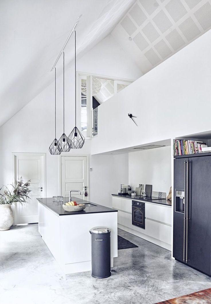 26 best Aufbau - Wohnküche mit Kamin images on Pinterest Future