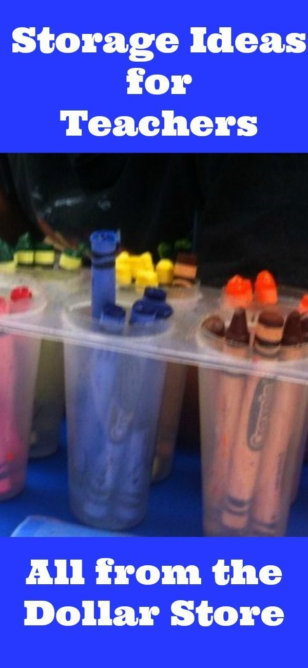 Easy storage and organization ideas for moms and teachers! Re pinned by Green Apple Lessons at www.GreenAppleLes...