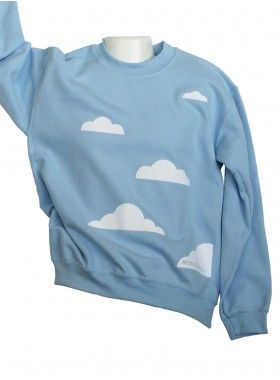 Merrimaking Cloud Sweatshirt. Buy @ http://thehubmarketplace.com/Cloud-Sweatshirt