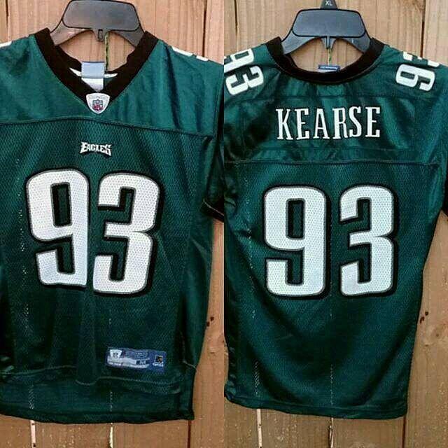 ... Green M Reebok PhiladelphiaEagles Jevon Kearse Philadelphia Eagles  youth jersey Made by Reebok NFL. Sharp nice looking. 6c2c190f1