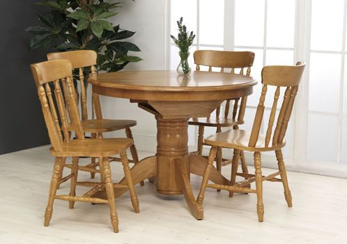 Colonial, extending table, 4 chairs, compact dining table, compact dining set, maple dining set, maple dining table, extending dining set