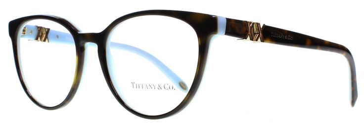 Tiffany & Co TF2138 8134 Havana / Blue Designer Glasses