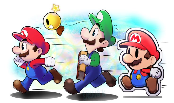 I was stumped on what to draw for this week, so I asked some friends and :devmis-sheepy: suggest characters from the last game I played. soooo, yep. It's Mario & Luigi Paper Jam XD Hope you lik...