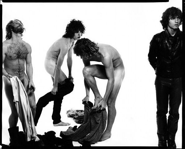 Andy Warhol and members of The Factory por Richard Avedon ...