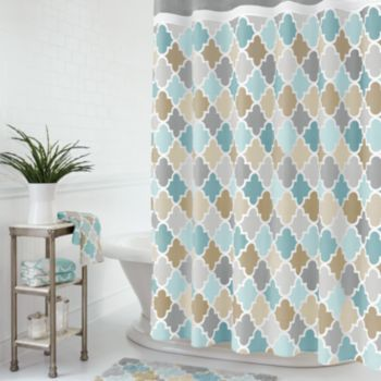 Fabric Shower Curtains Shower Curtains And Curtains On