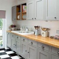 Best Grey Kitchens Images On Pinterest Grey Kitchens Cozy - Country kitchen splashback ideas