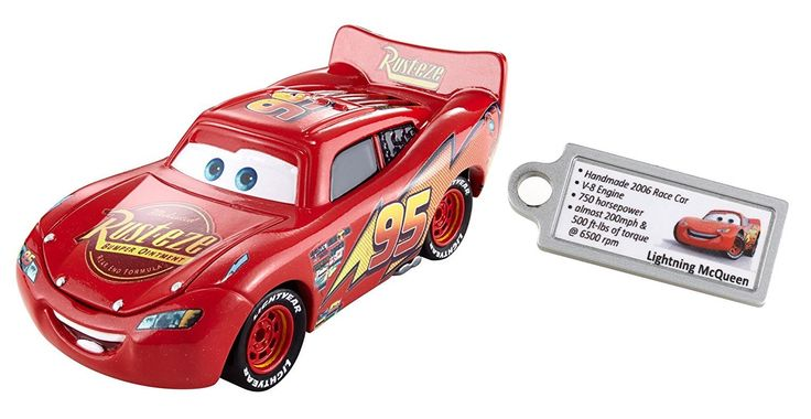 Disney/Pixar Cars Lightning McQueen Signature Premium Precision Series Diecast Vehicle