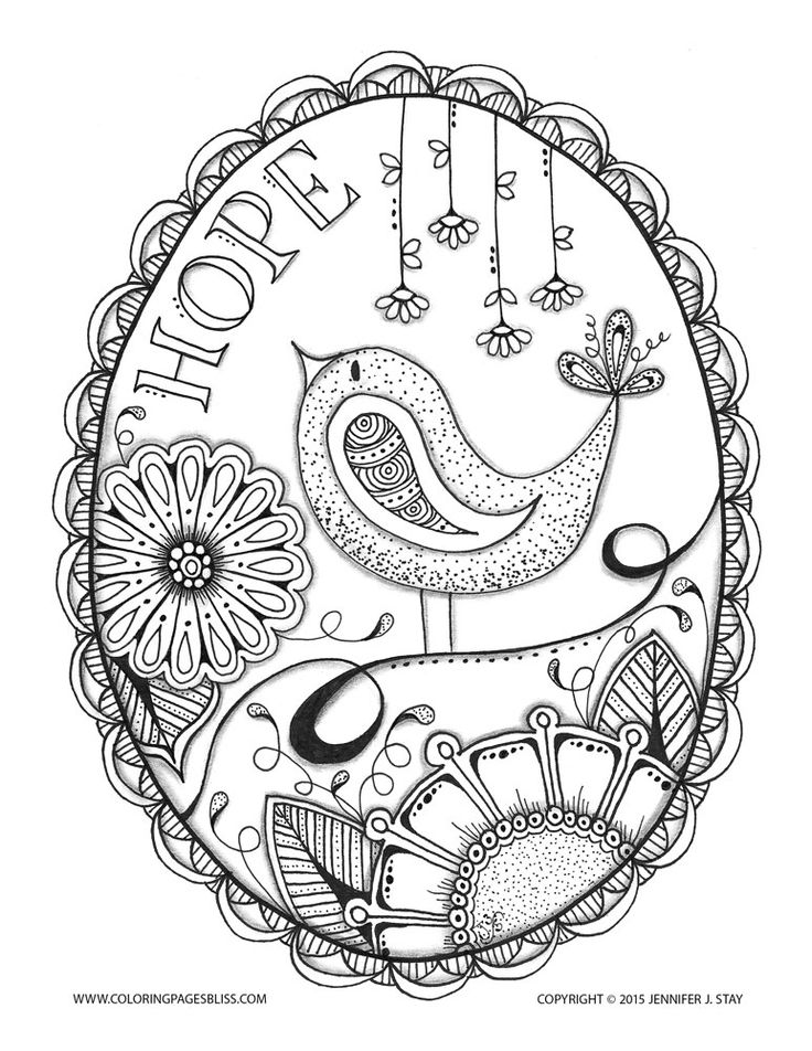 Coloring Page Of Elegant Flowers With A Big Paisley Pattern In The Middle Like This Art