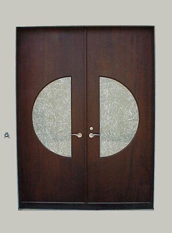 Solid-Slab-Mahogany-Doors-by-Decora