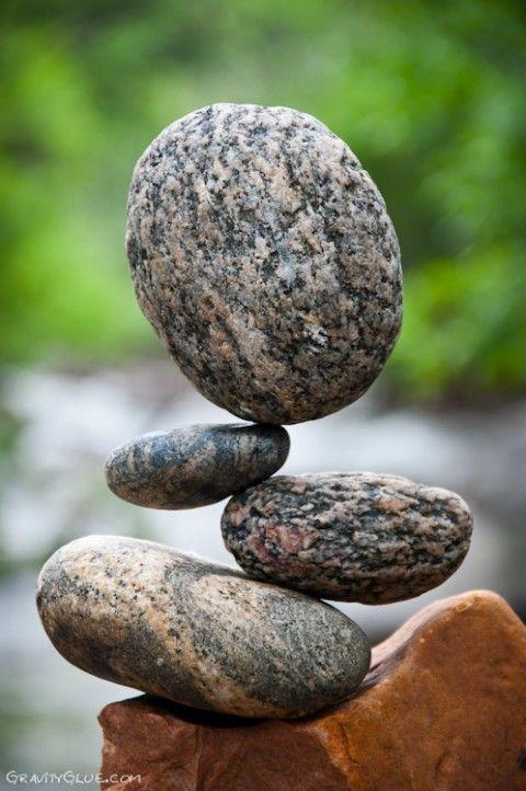 Michael Grab Rock Balance Art