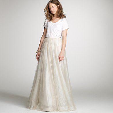 Long skirt idea !!!!