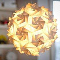 Luminosity Aperture Small 35cm Ceiling Pendant White Light Shade