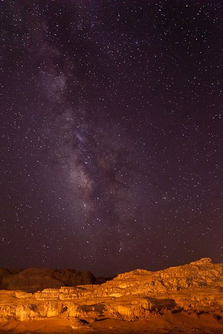 Wadi Rum, Jordan.... I've been here and the sky really does look like this... Absolutely breathtaking