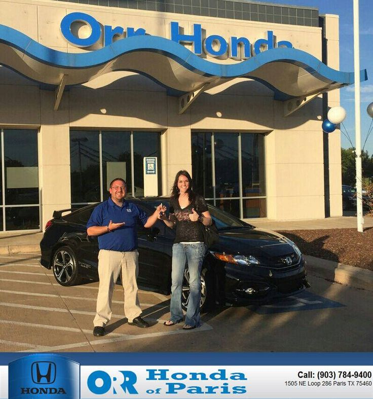 Happy Anniversary to Amanda on your Honda Civic Coupe