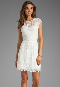 shopstyle.com: Dolce Vita Kloey Silk Embroidery Dress