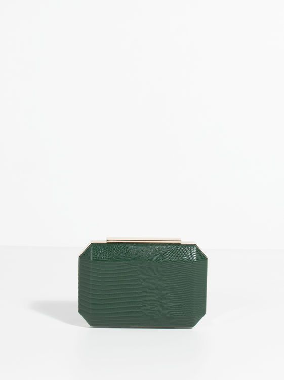 Kruga Party Clutch, Green