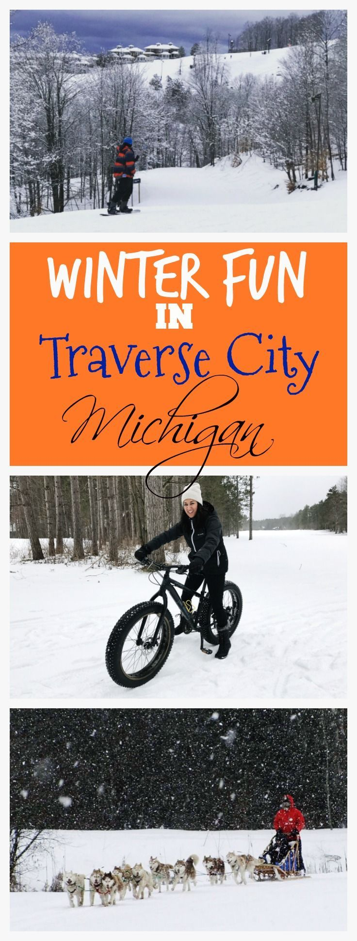 Here's the scoop on Traverse City, Michigan! Your guide to winter fun, skiing, activities, resorts, restaurants, breweries, and more!
