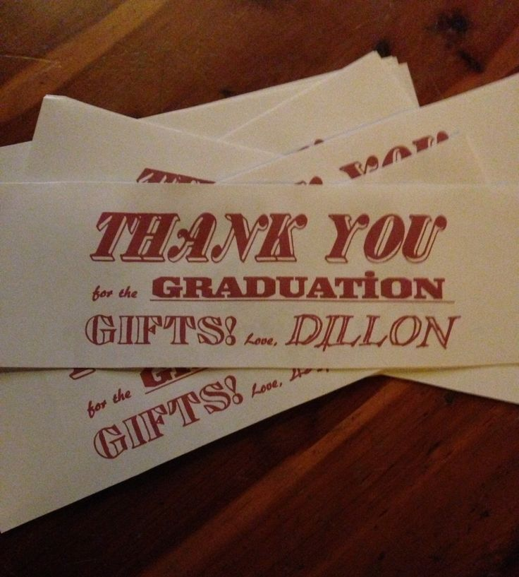 17 best Christmas Fun images on Pinterest Homemade christmas - graduation thank you notes