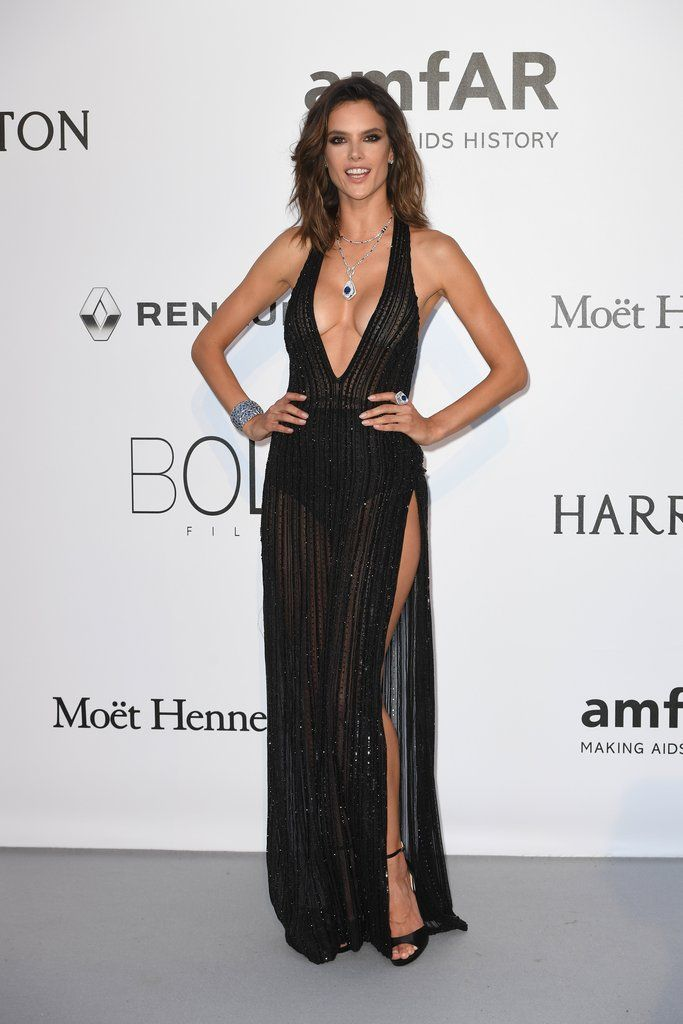 Brazilian Victoria's Secret Angel Alessandra Ambrosio leaves us wanting more whenever she steps out on the red carpet.