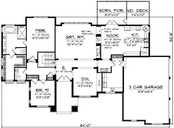 Plan 89754ah Expandable Prairie Style Home Plan