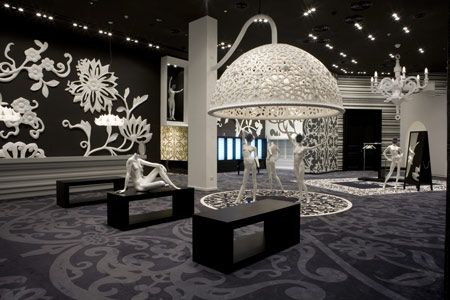 Designer Marcel Wanders has completed the interior of fashion store Villa Moda in Bahrain.