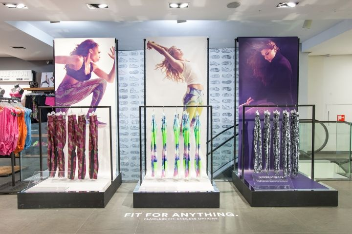 Nike tights campaign by confetti & Hello Hero, Amsterdam, Brussel, Antwerpen » Retail Design Blog