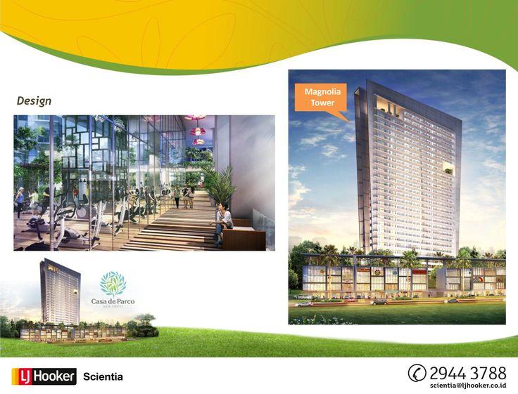DESIGN - MAGNOLIA Tower @ Casa de Parco Apartment, BSD City