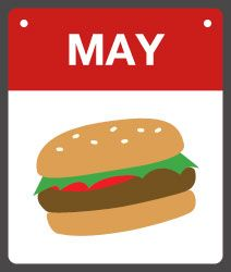 "May is ""National Burger Month"" ~"