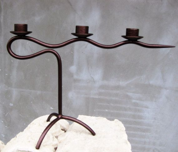 metal  candlestick romantic home accent bedroom by BrillianceDecor