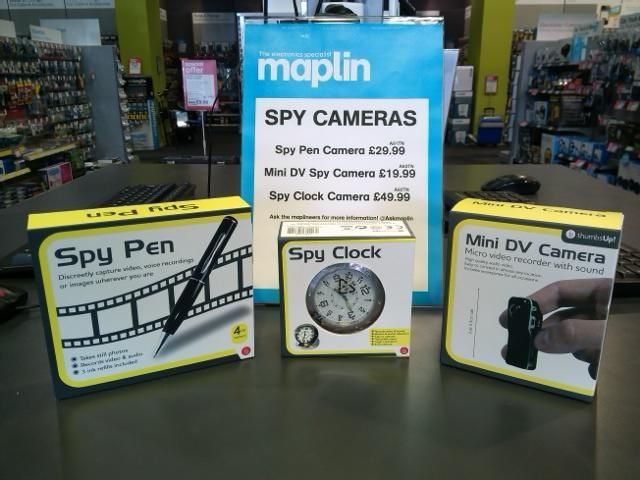 Our new spy survellience cameras, they are selling quickly! @ThumbsUpUK #spy #norwich @NorfolkRT
