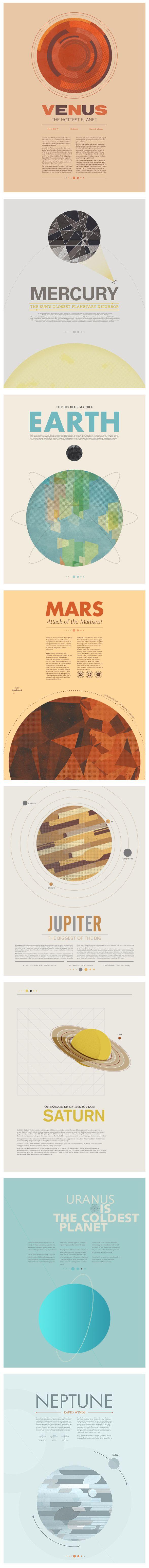 地球之外 行星海报系列稿