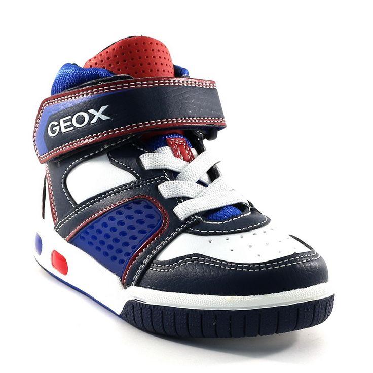 325A GEOX J4447A BLEU www.ouistiti.shoes le spécialiste internet de la chaussure enfant et femme collection automne hiver 2014 2015