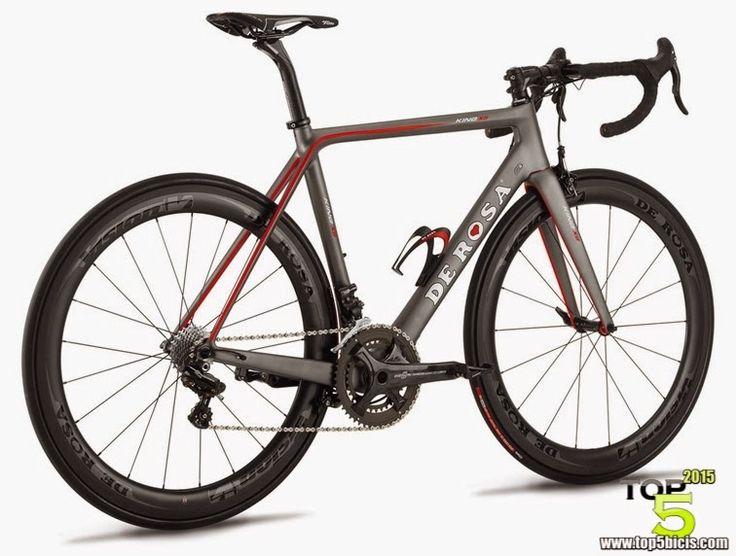 TOP 5 - BICICLETAS DE CARRETERA: De Rosa KING XS, una bici de lujo para 2015