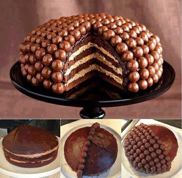Me Encanta el Chocolate: IDEAS PARA DECORAR TUS PASTELES DE CHOCOLATE (FOTOS)
