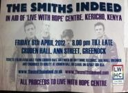 The Smiths Indeed Charity Night