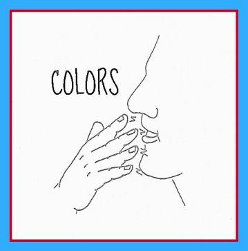Sign Language Colors | Color Signs
