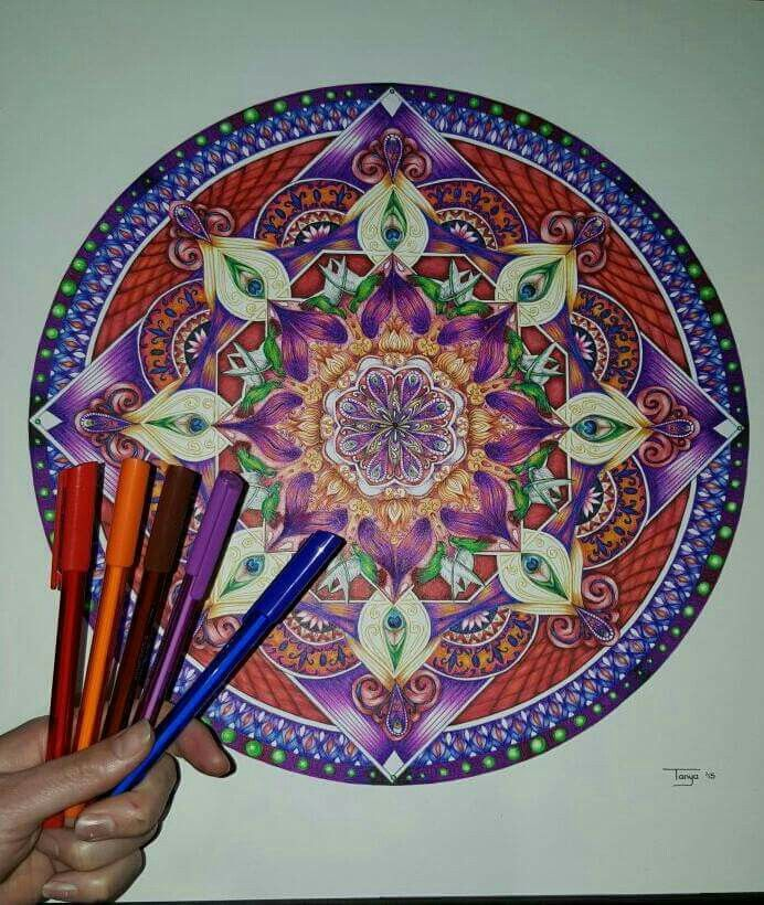 Ballpoint Pen drawing Mandala art