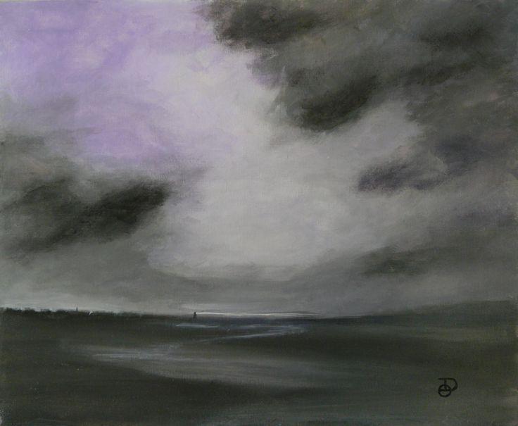 Sans titre. Acrylique 61x50 cm Olivier Defay