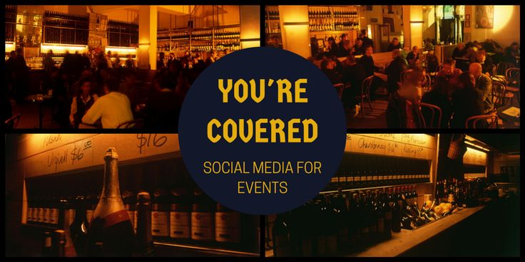 Does your #socialmedia manager cover your #events live?