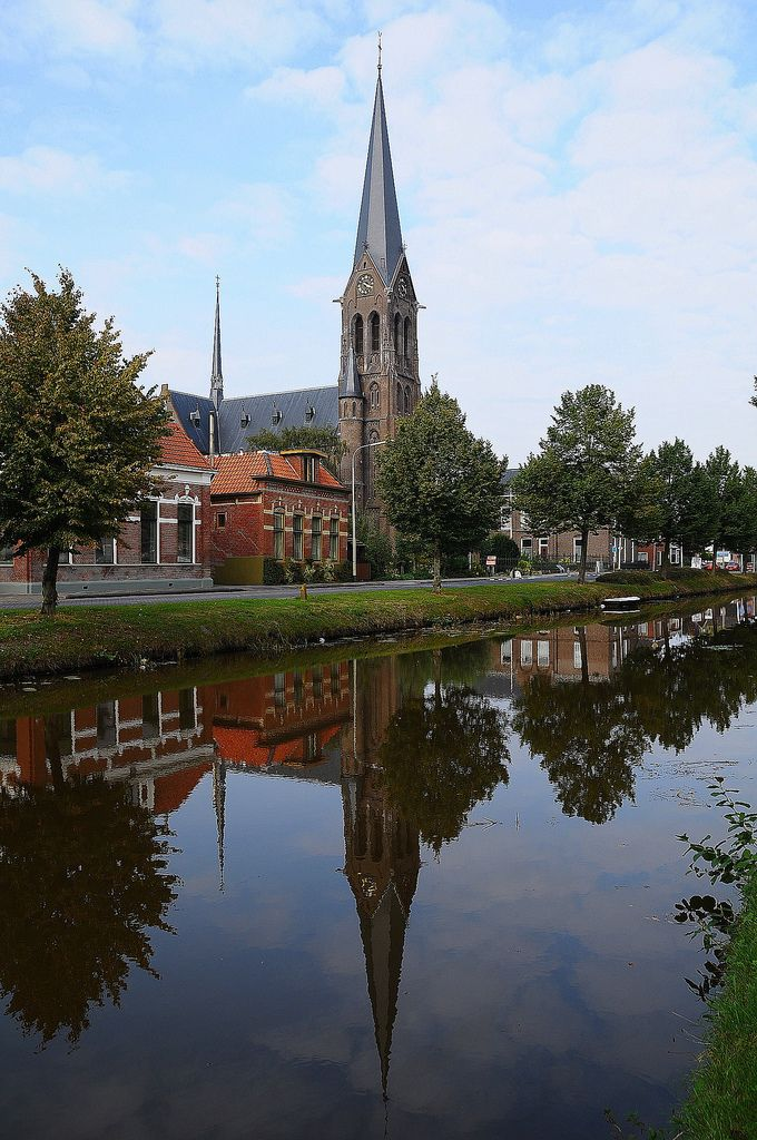 Oude Pekela, Groningen. The Netherlands