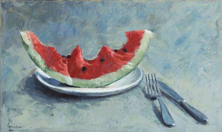 .:. Σάμιος Παύλος – Pavlos Samios [1948] Καρπούζι στο πιάτο, 2006