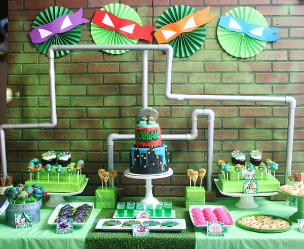 This collection of ninja turtle party ideas is sure to amaze all TMNT fans - young and old! So many unique ideas here that you can use in your next party.